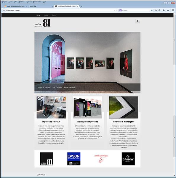 Impressão Fine Art Digital